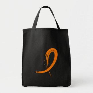Leukemia's Orange Ribbon A4 Tote Bag