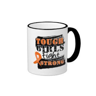LeukemiaTough Girls Fight Strong Coffee Mug