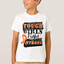 LeukemiaTough Girls Fight Strong T-Shirt