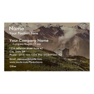 Leukerbad Torrenthorn Valais Alps of Switzerla Business Card