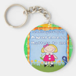 Leukodystrophy Awareness Matters to Me Key Chains