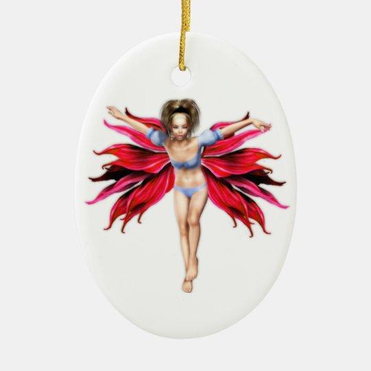 Leura Fairy Ceramic Ornament