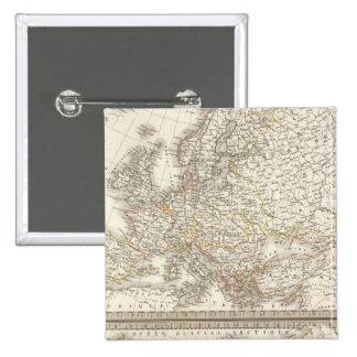 L'Europe 1789, 1813 Button