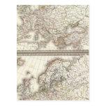 L'Europe 800, 1500 Post Card