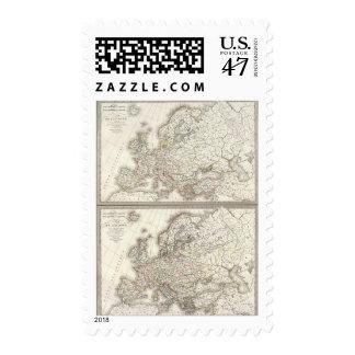 L'Europe 800, 1500 Postage
