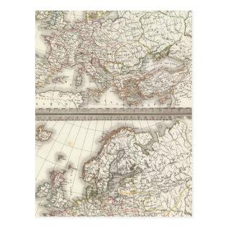 L'Europe 800, 1500 Postcard