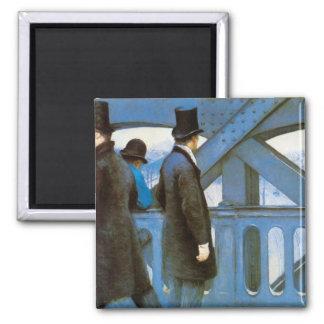 l'Europe de Le Pont de Gustave Caillebotte Imán Cuadrado