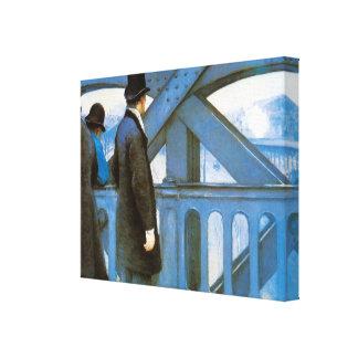 l'Europe de Le Pont de Gustave Caillebotte Impresiones En Lienzo Estiradas