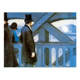 l'Europe de Le Pont de Gustave Caillebotte Tarjeta Postal