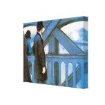 l'Europe por Caillebotte, arte de Le Pont del Impresiones En Lona