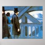 l'Europe por Caillebotte, arte de Le Pont del Póster