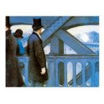 l'Europe por Caillebotte, arte de Le Pont del Postal