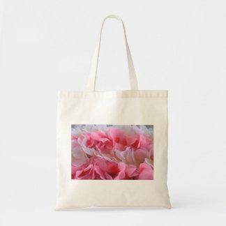 leus blancos rosados bolsa
