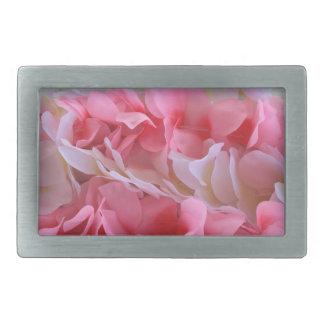leus blancos rosados hebilla de cinturon