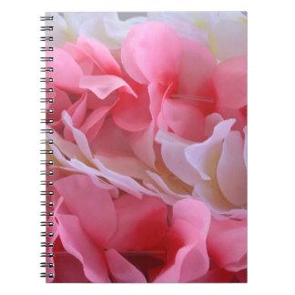 leus blancos rosados libros de apuntes