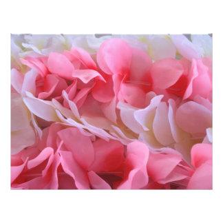 leus blancos rosados plantillas de membrete