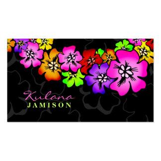 leus de la ducha 311-Flower Tarjetas De Visita