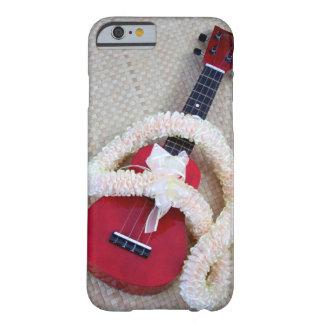 Leus del Ukulele y del satén Funda Barely There iPhone 6