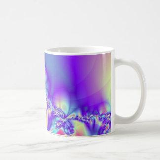 Leus púrpuras tazas