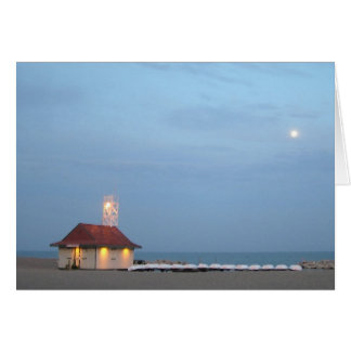 Leuty Lifeguard Station Greeting Card