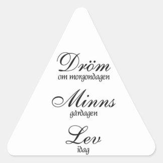 Lev de Dröm Minns Colcomanias Trianguladas