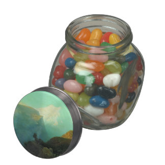 Lev Lagorio- Mist in the mountains. Caucasus. Jelly Belly Candy Jar