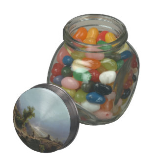 Lev Lagorio- On the Caucasus Mountains Jelly Belly Candy Jar