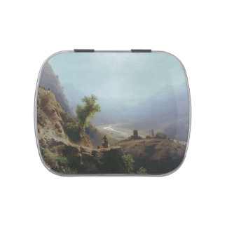 Lev Lagorio- On the Caucasus Mountains Jelly Belly Tin