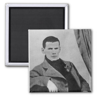 Lev Nikolaevich Tolstoy  as a student Fridge Magnet