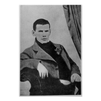 Lev Nikolaevich Tolstoy  as a student Poster