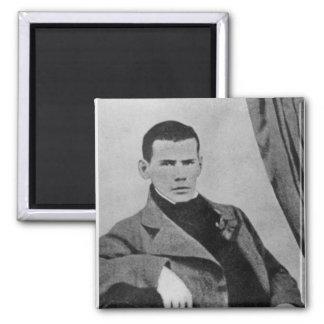 Lev Nikolaevich Tolstoy como estudiante Imán Cuadrado
