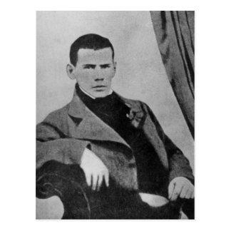 Lev Nikolaevich Tolstoy como estudiante Postal
