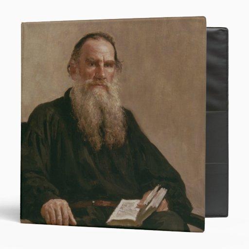 "Lev Tolstoy 1887 Carpeta 1 1/2"""