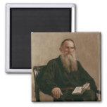 Lev Tolstoy 1887 Imán Cuadrado