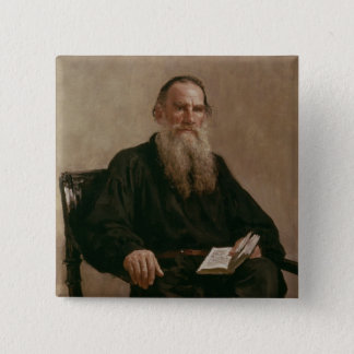 Lev Tolstoy  1887 Pinback Button