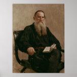 Lev Tolstoy 1887 Póster