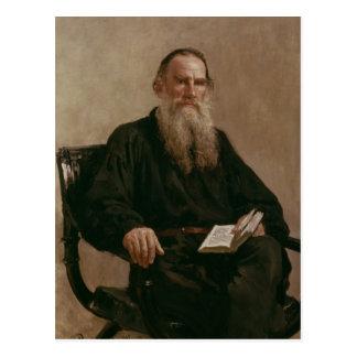 Lev Tolstoy 1887 Tarjeta Postal