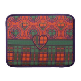 Levack clan Plaid Scottish kilt tartan MacBook Sleeve