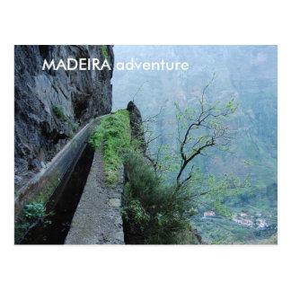 Levada do Norte, MADEIRA adventure Post Cards
