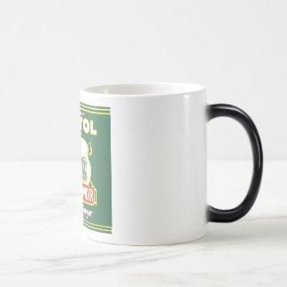 Levadura en polvo del capitolio tazas de café