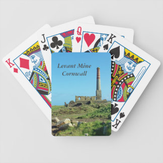 Levant Mine Cornwall England Photo Bicycle Playing Cards