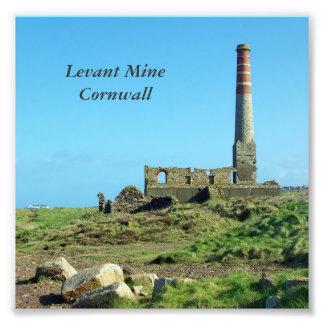 Levant Mine Cornwall England Photo