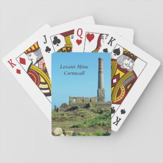 Levant Mine Cornwall England Photo Playing Cards