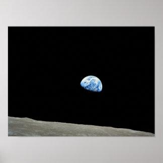 Levantamiento de la tierra del planeta posters
