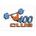 Levantamiento de pesas de 400 clubs postal