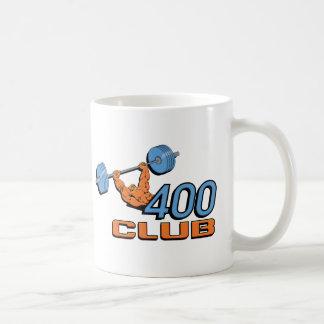 Levantamiento de pesas de 400 clubs tazas