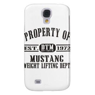 ¡Levantamiento de pesas del mustango! Funda Para Galaxy S4