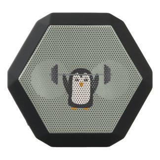 Levantamiento de pesas del pingüino altavoz
