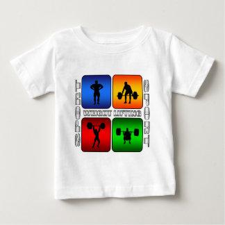 Levantamiento de pesas espectacular tshirts