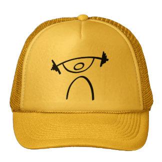 Levantamiento de pesas gorras